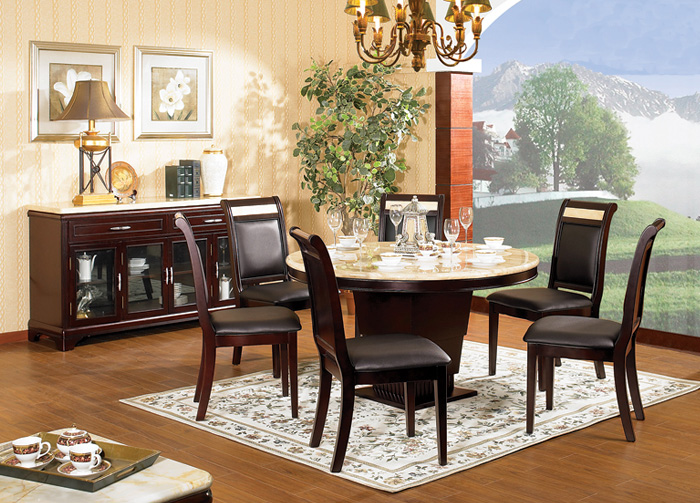 best marble top dining table might be suitable for your. Black Bedroom Furniture Sets. Home Design Ideas