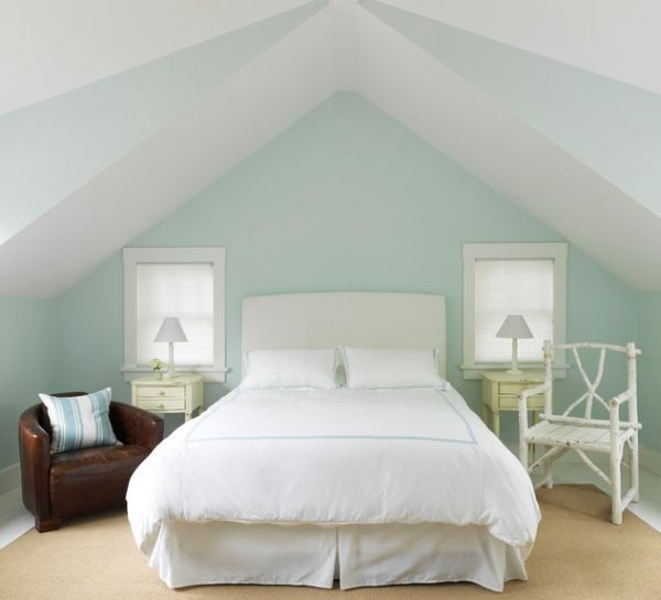 White Tones paint ideas for Modern Small Living Rooms