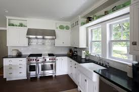 black and white cabinet for kitchen