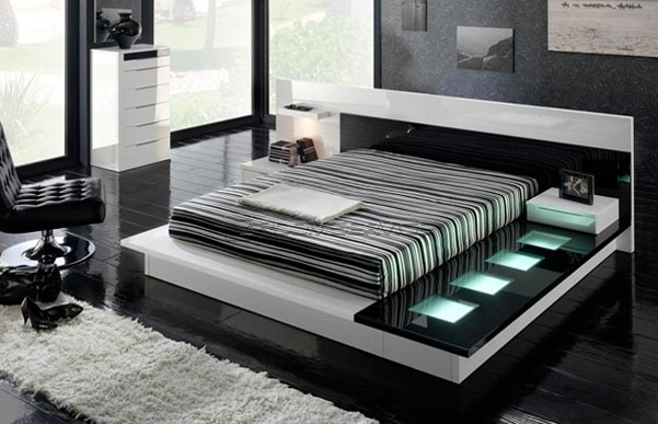 Awesome VIEW IN GALLERY Modern Contemporary Furniture For Bedroom