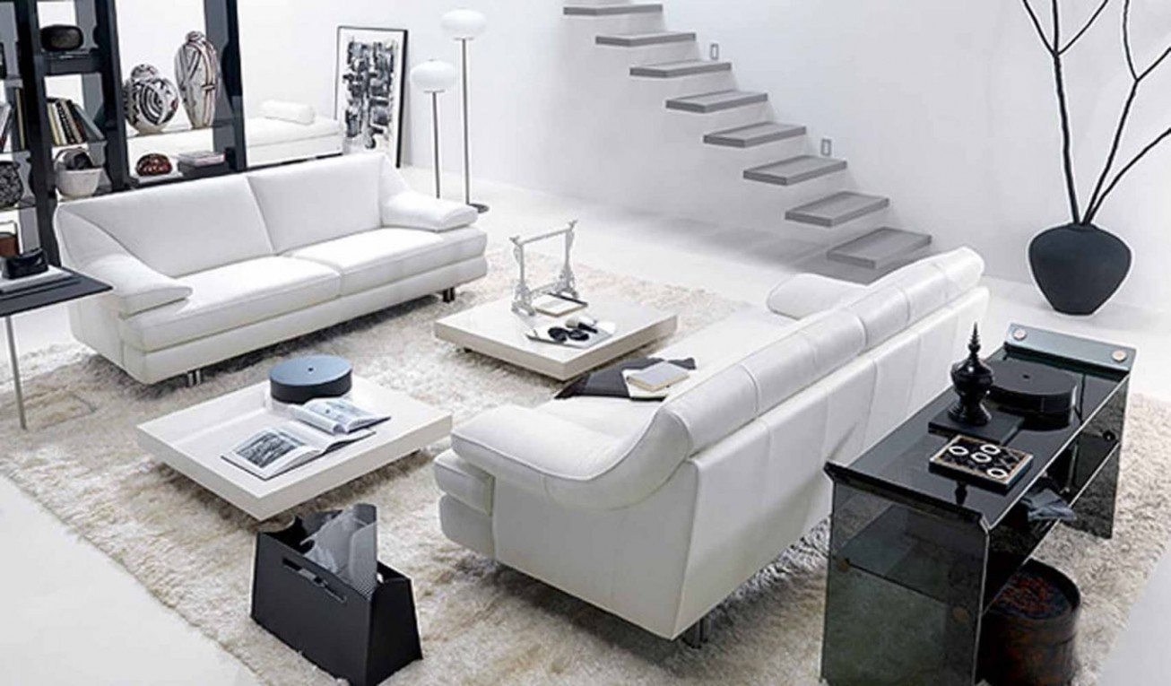 view in gallery stunning modern white living room furniture - Modern White Living Room