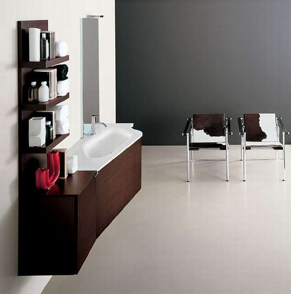 Wooden Bathroom Vanities Cabinets With White Tops in Cool White Color Bathroom Design