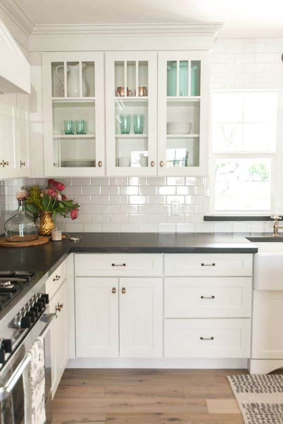 Rustic Design In Action For White Awesome Kitchen Cabinets
