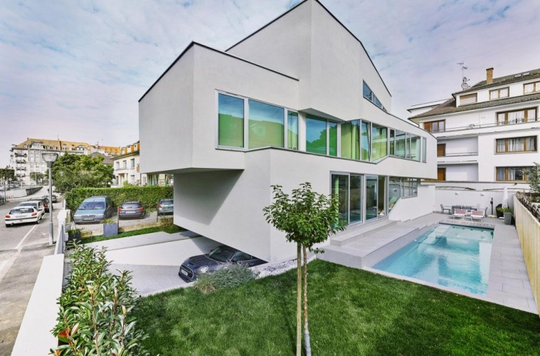 A contemporary residential architecture in strasbourg for K architecture strasbourg
