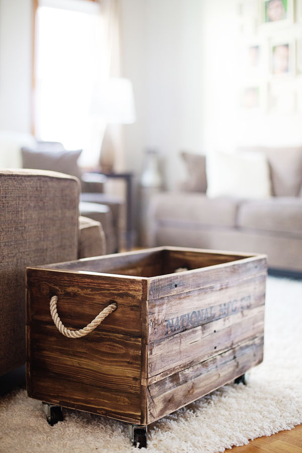 Diy Project Pallet Wood Crate