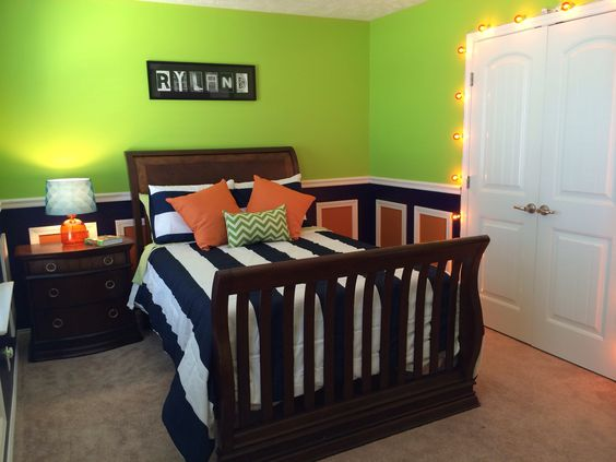 Lime Green Childrens Room (2)