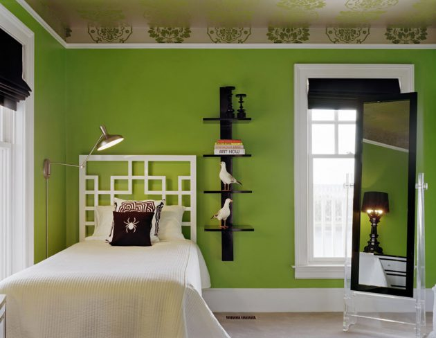 Lime Green Childrens Room (7)