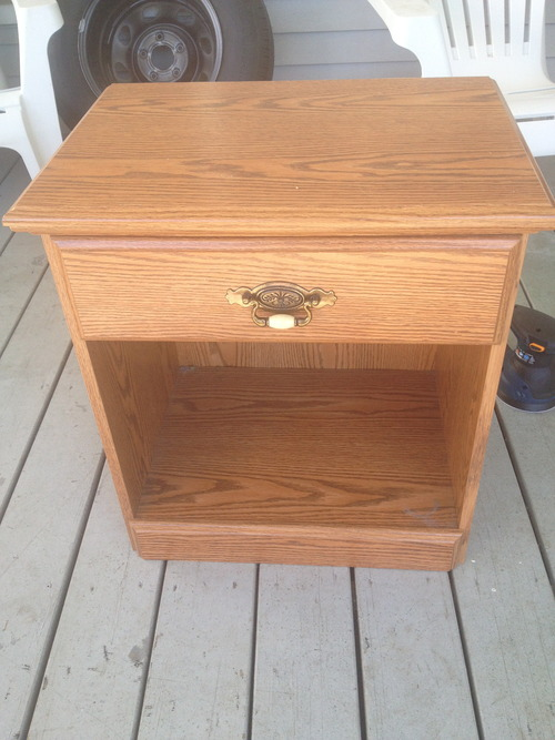 Old furniture diy ideas project 9 before