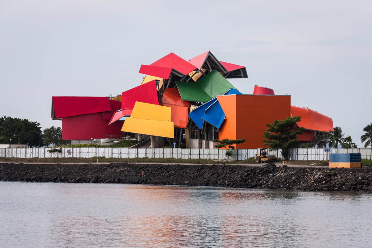 The Biomuseo Panama architecture