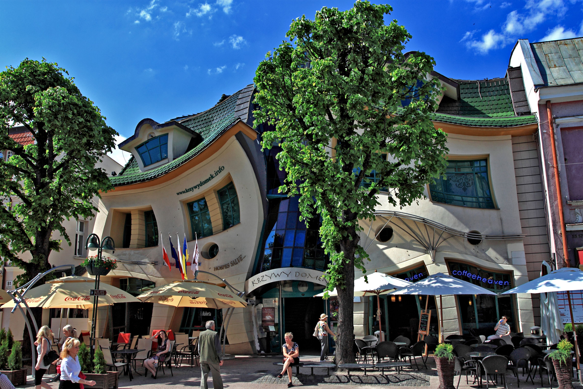 The Crooked House Sopot