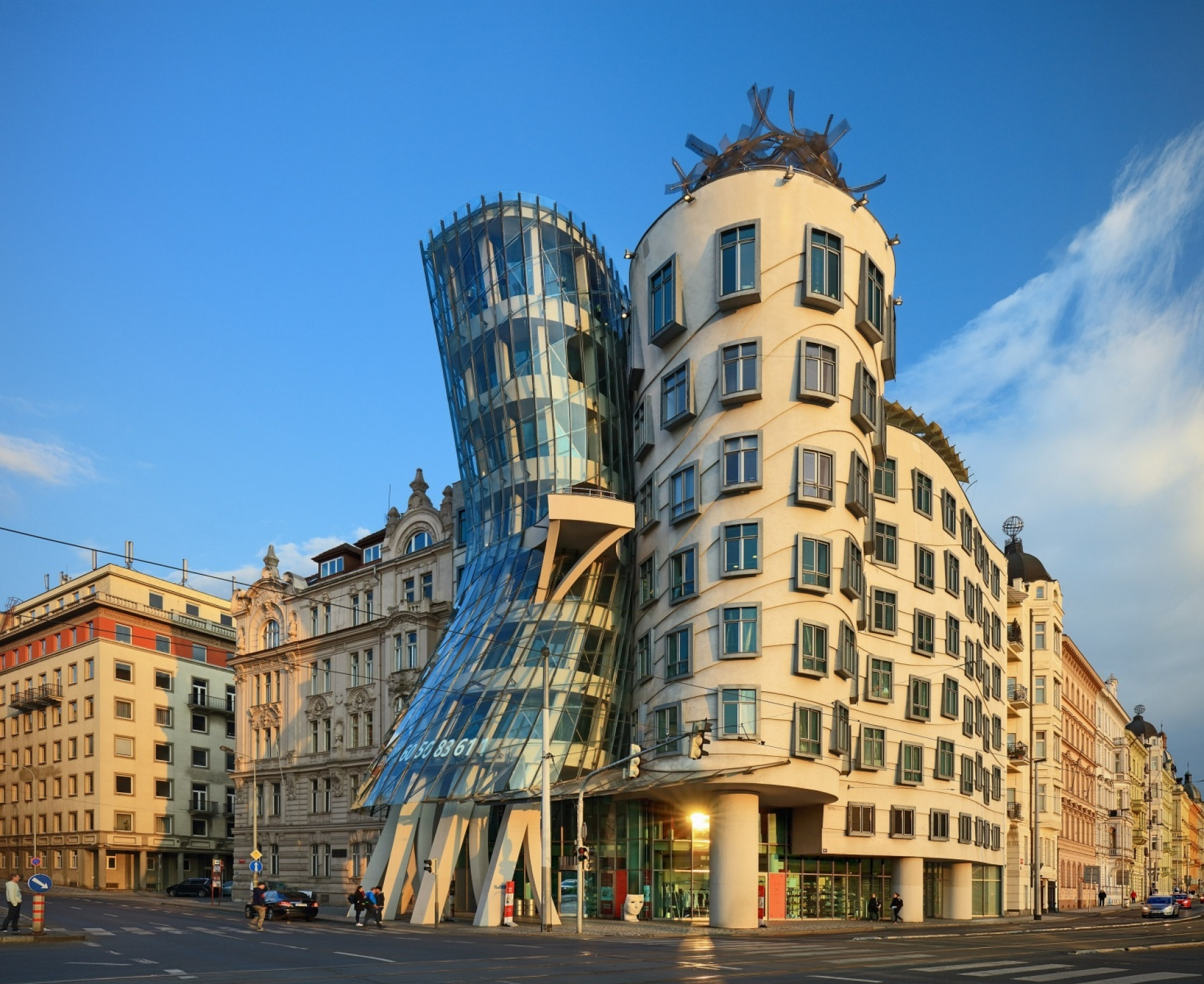 The Dancing House Prague