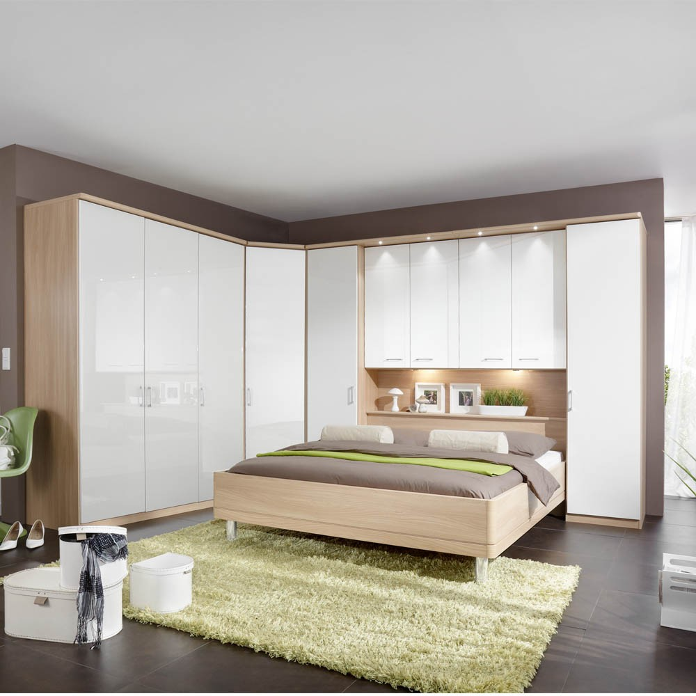 Bedroom Furniture White Gloss funky high gloss bedroom furniture design - hgnv