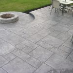 Stamped concrete patio ideas to bring your patio backyard or frontyard more welcoming space