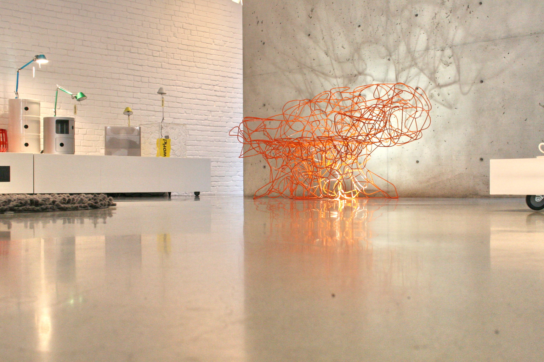 polished concrete floor in house. VIEW IN GALLERY Polished Concrete Floors Residential Ideas With Floor In House