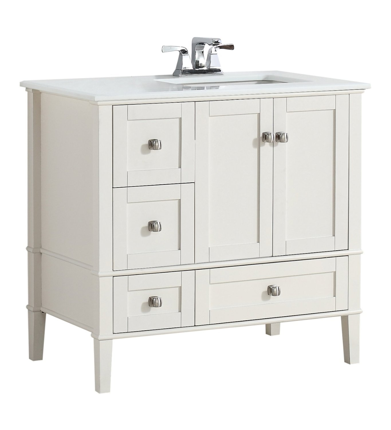 Perfect White Bathroom Vanity and Storage Cabinet Ideas HGNV