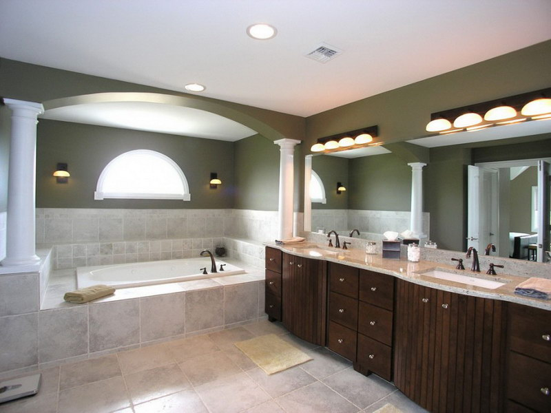 Bathroom vanity lights and fixtures ideas hgnv view in gallery aloadofball Choice Image