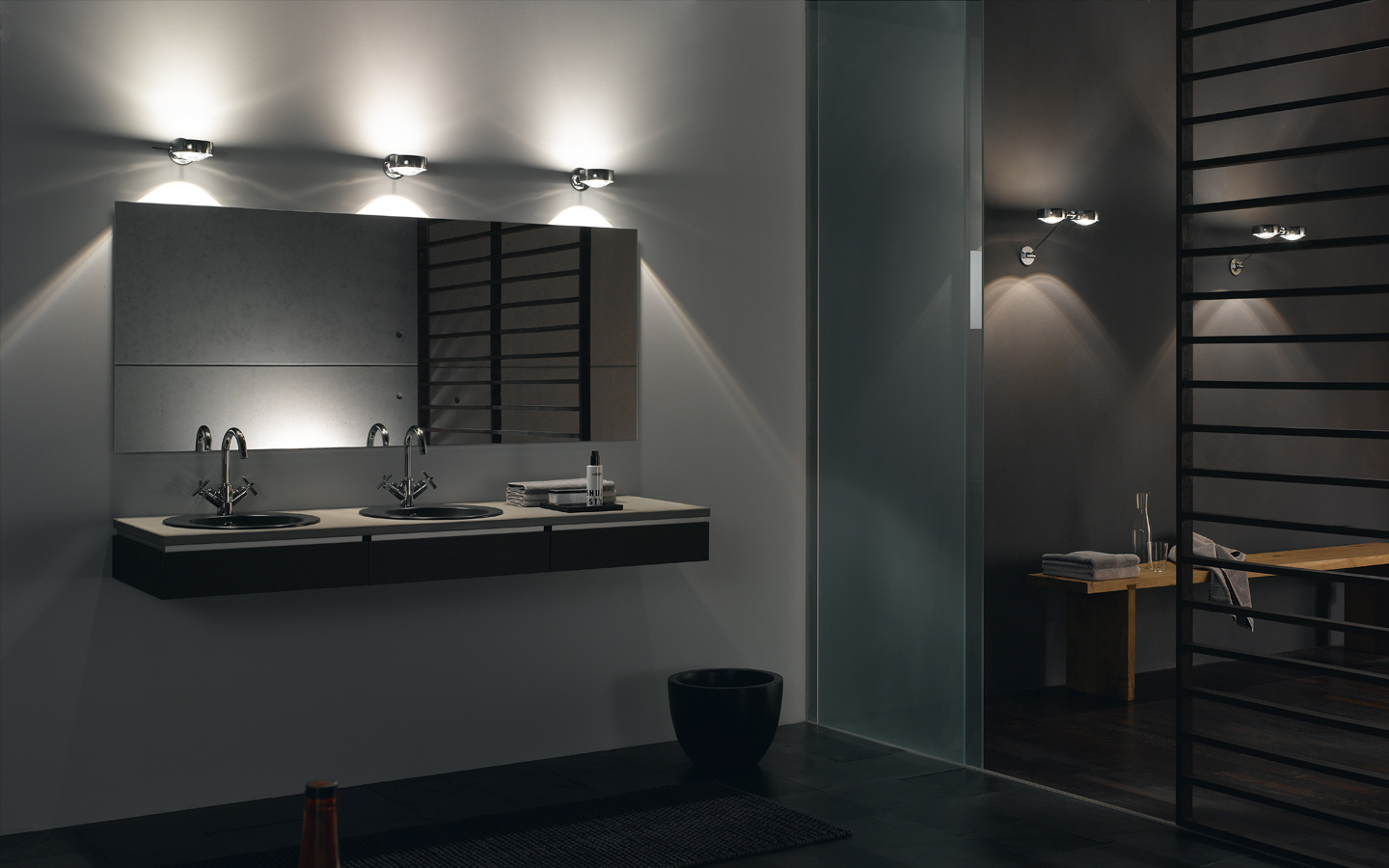 11 best modern bathroom lighting ideas On modern light fixtures for bathroom