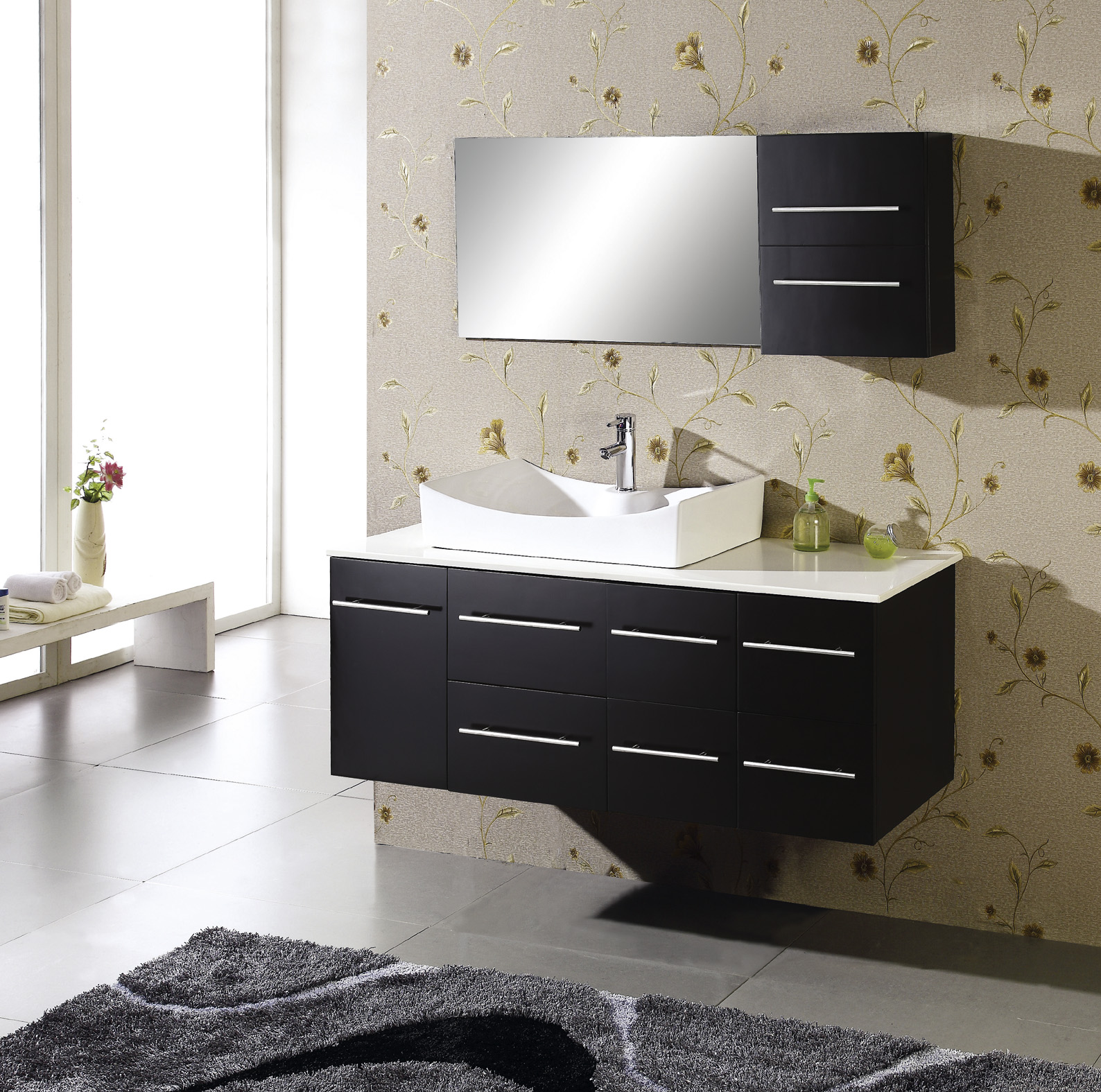 extraordinary bathroom modern inspiration vanities of ideas cabinet cabinets