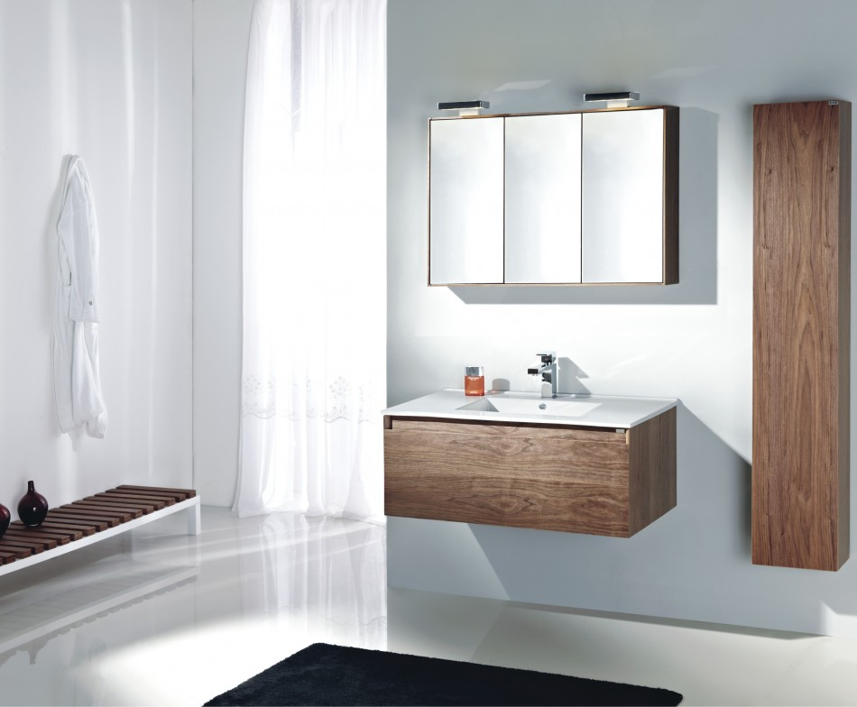 Small bathroom vanity cabinets ideas for modern design wall mounted