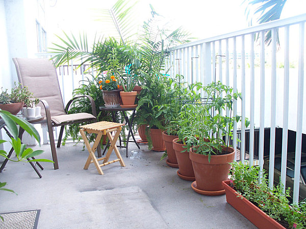 Charmant Balcony Garden Design Ideas
