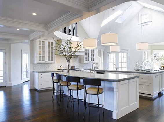 french white kitchen design