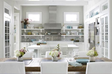 White Kitchen And Dining Room 20 awesome white kitchen cabinets for your living home