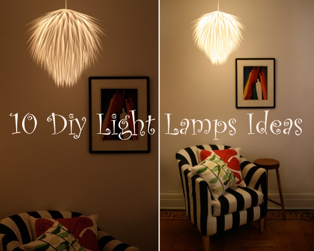 Diy Light Lamps Ideas