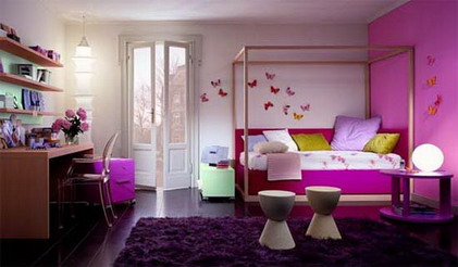 VIEW IN GALLERY Beautiful Girls Bedroom Design Ideas For Teenagers