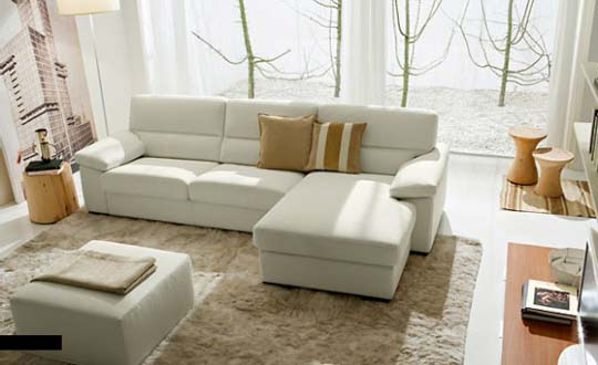 Interior Design for a White Sofa 2