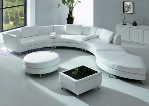 Interior Design for a White Sofa