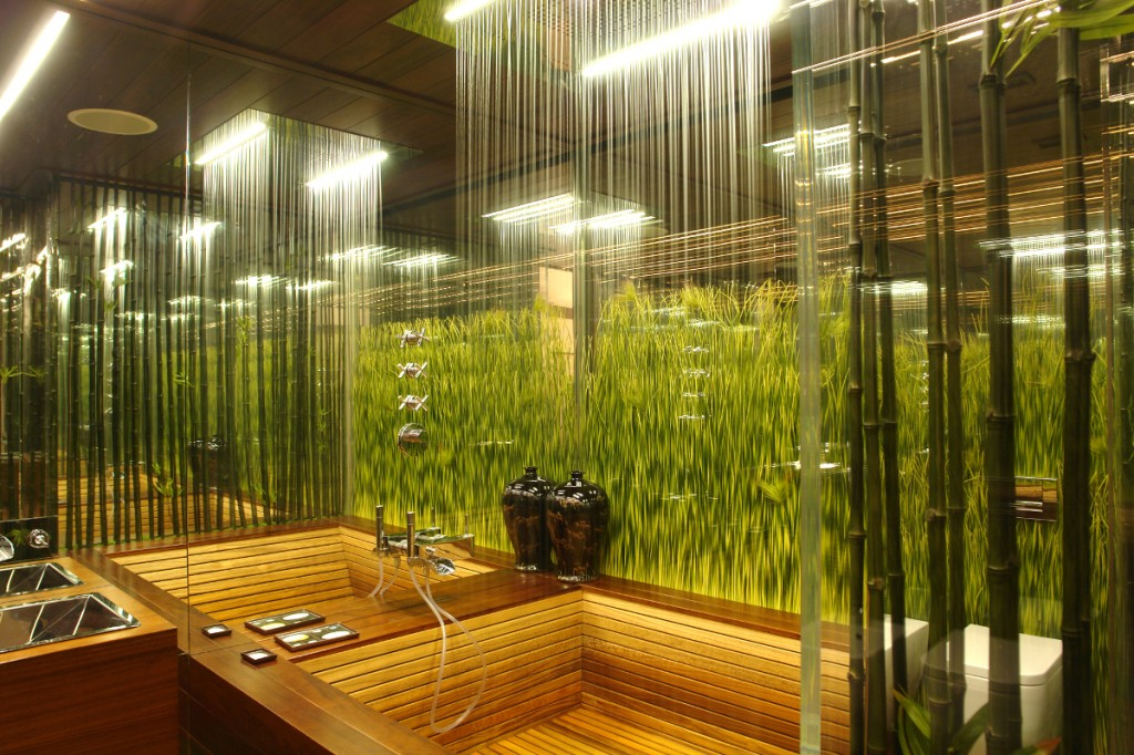 48 bathroom design ideas that bring nature inside for Bathroom designs natural