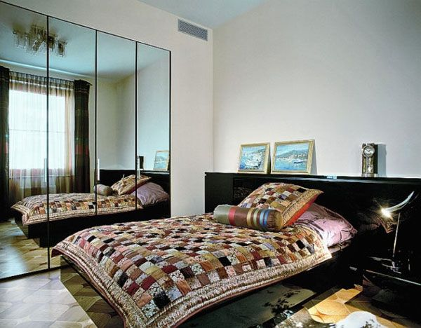 design ideas for small bedrooms with mirror