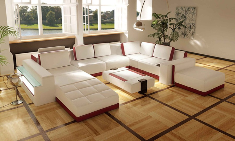 view in gallery furniture century modern comfort contemporary - White Living Room Furniture Sets