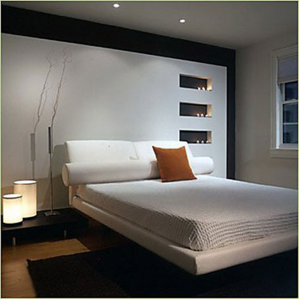 Modern Small Bedroom Decoration - emiliesbeauty.com -