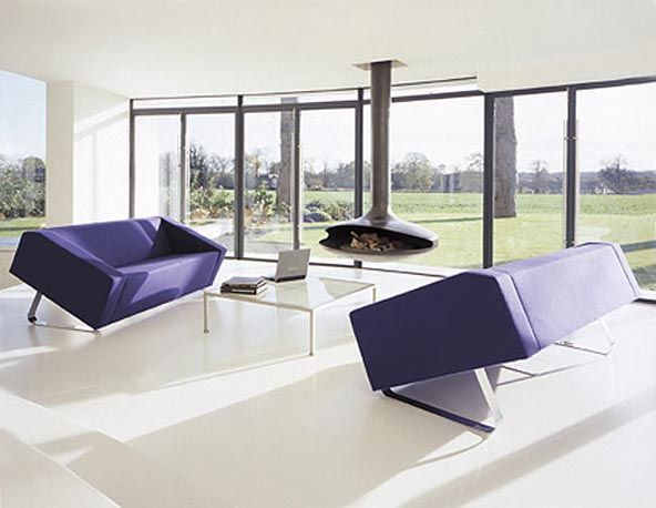 10 awesome modern contemporary furniture for living room for Interesting couches