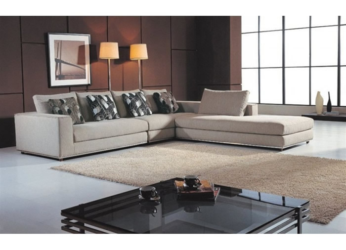100 Microsuede Sectional Sofa Sectional Sofa  : modern cream microfiber sectional sofa living room furniture from 45.77.108.62 size 700 x 506 jpeg 65kB