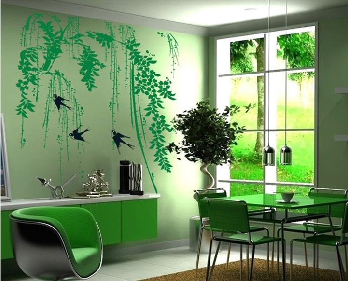 modern wall decor and mural design