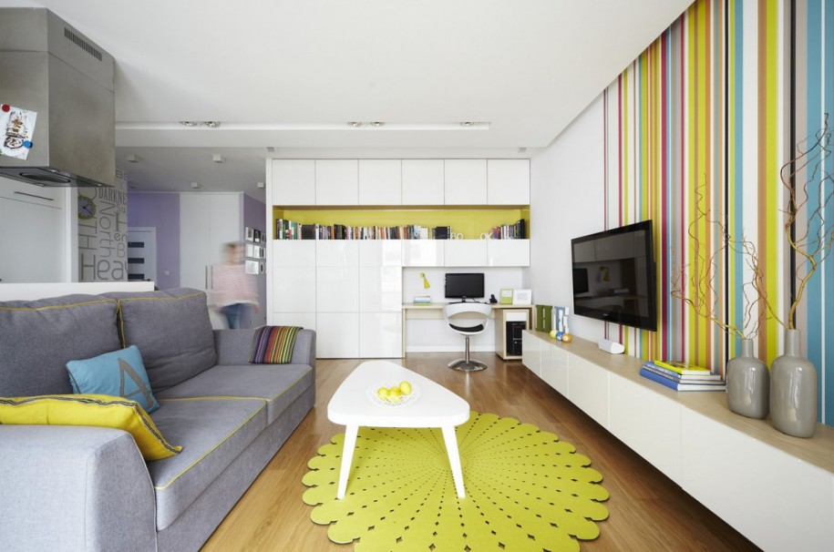 10 great small studio apartment interior design featured for Apartment interior design mysore