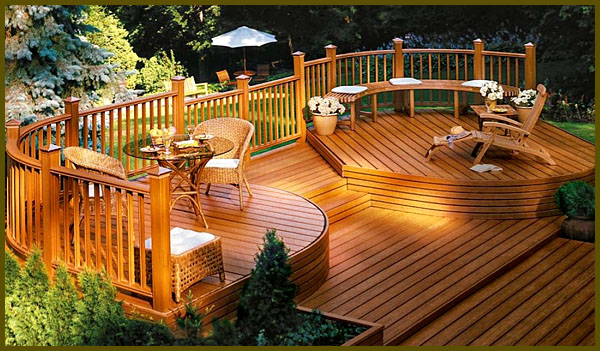 view in gallery wooden deck design ideas and pictures ideas for deck designs - Deck Design Ideas