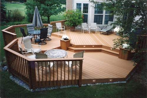 Ideas For Deck Designs deck designs 55e41ce31aefe wood deck designs photos 634x423 18 impeccable deck design ideas for the patio Deck Design Ideas