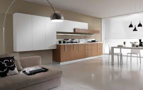 Best Kitchen Flooring Options for Small Kitchen Interior Decoration Ideas with White Flooring Ideas