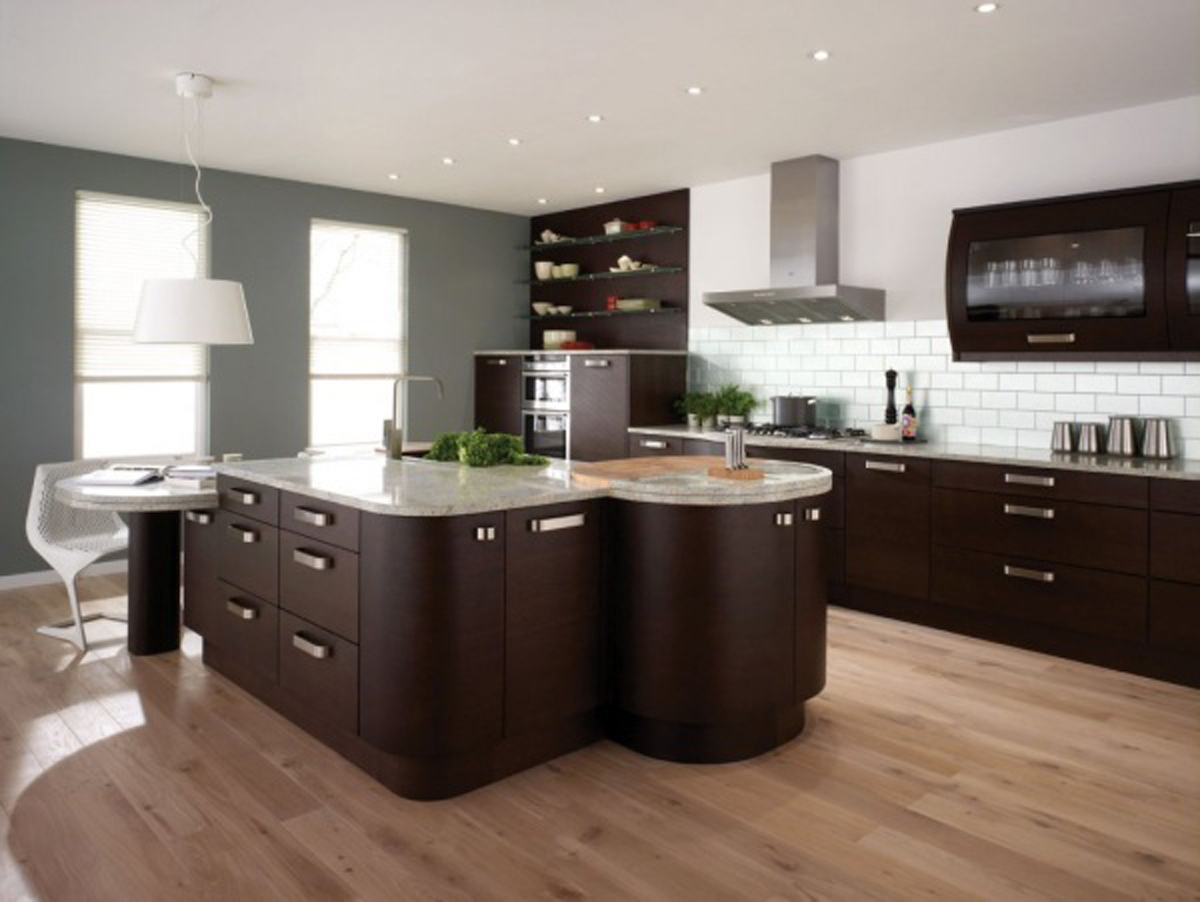 20 impressive kitchen flooring options for your kitchen floors kitchen flooring options VIEW IN GALLERY Kitchen Flooring Options with Wooden Kitchen Design Ideas