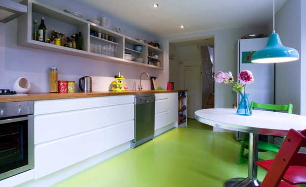 Green Kitchen Flooring 20 Impressive Kitchen Flooring Options For Your Kitchen Floors