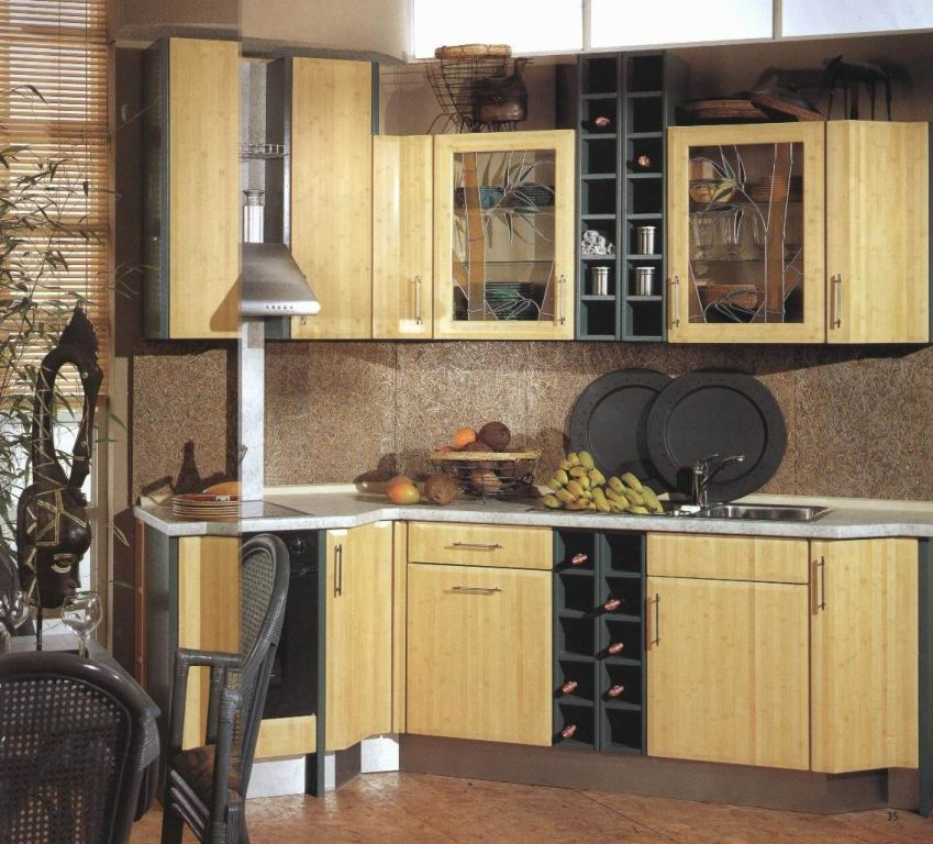 Kitchen flooring Trends with Awesome Bamboo Flooring in Kitchen