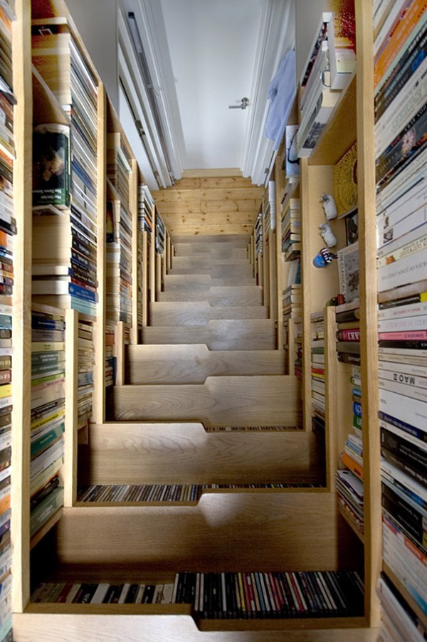 Top 10 Brilliant Staircase Designs Ideas Bookshelves
