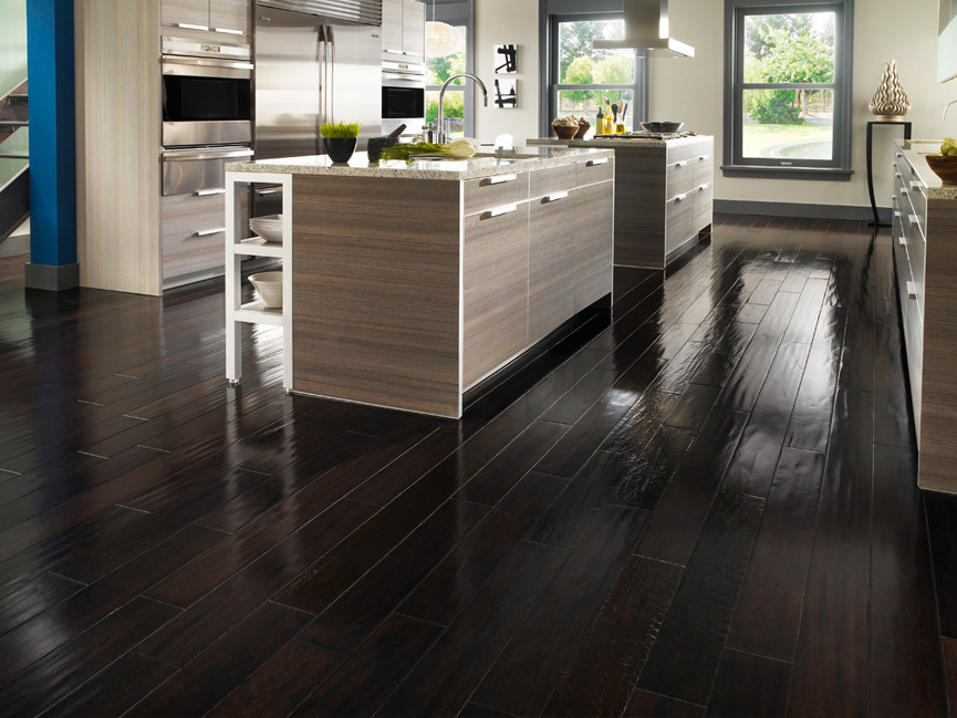 20 impressive kitchen flooring options for your kitchen floors for Diy kitchen floor ideas