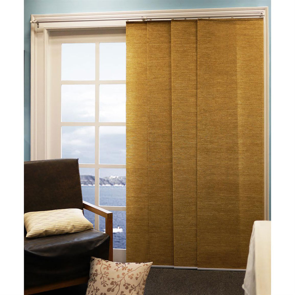 Door Panel Curtains : Window treatments for sliding glass doors ideas hgnv