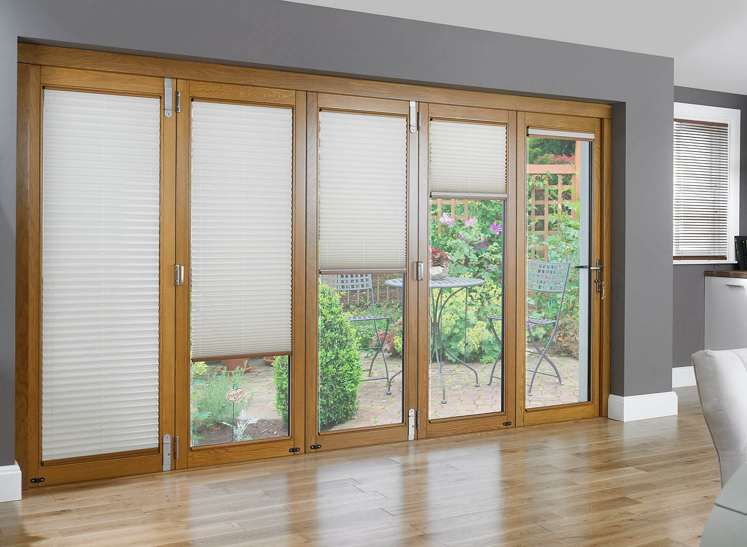 window treatments for large sliding glass doors