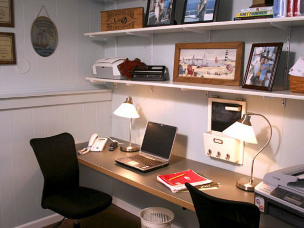 Home office interior design for small spaces