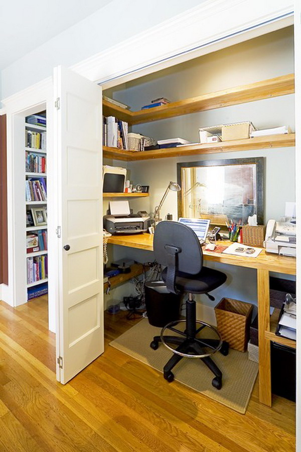 Perfect Match Small Home Office Furniture Arrangement